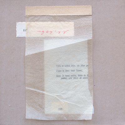 Papiers collés III