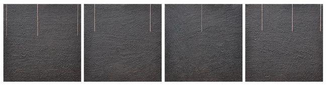 Lignes-noir I   20x20x4