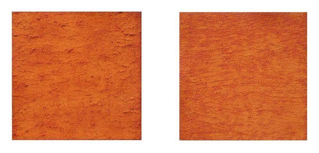 Les poussières, 2 x 40x40 cm (2)